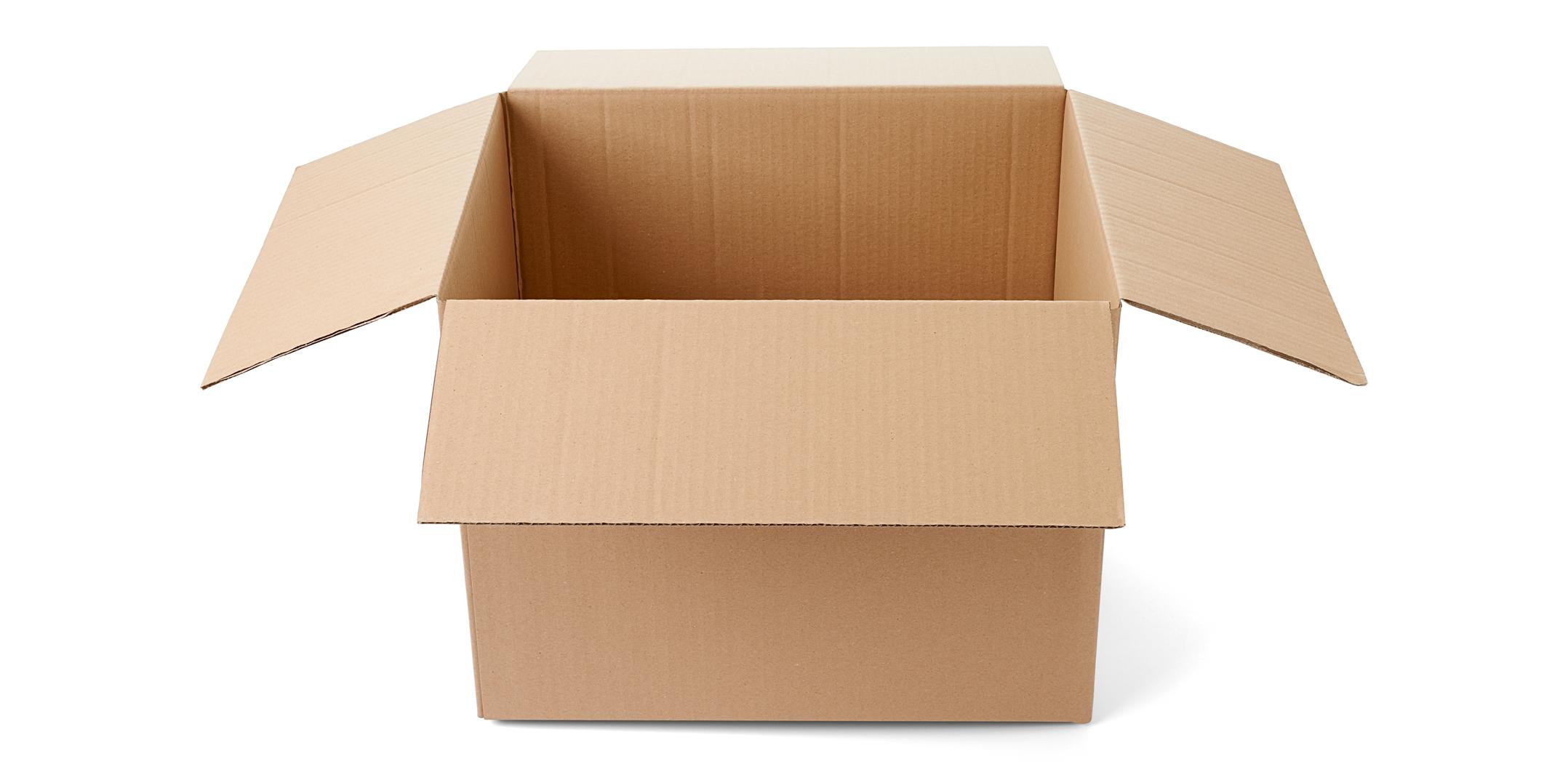 Cajas De Cart N Cuatro Aletas